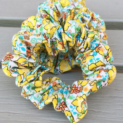 Field of Flowers Scrunchies