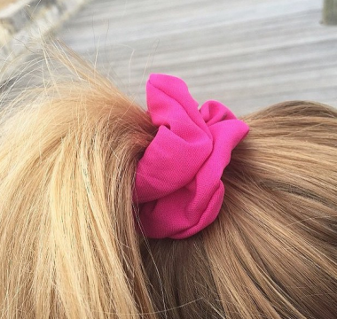The Hot Pink Scrunchie
